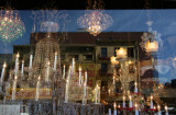 Bowery Lighting Store with Window Reflections