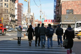 Going Uptown - Crossing Delancey Street