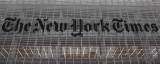 New York Times Building Sign