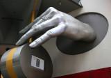 Madam Tussauds Wax Museum Entrance Hand