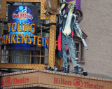 Young Frankenstein at the Hilton Theatre