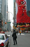 NYPD & 'Carmen' Billboard' - View of 42nd Street
