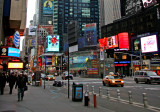 Times Square - North View from 43rd Street & 7th Avenue