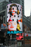 Times Square - NASDAQ Sign at 43rd Street