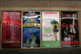 Broadway Show Posters in Schubert Alley