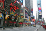 Times Square - Downtown View