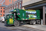 Waste Carting Truck at NYU Student Center