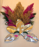 Flower Show - Mardi Gras Mask & Headress