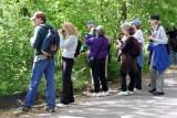 Bird Watchers at the Lakeshore