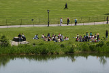 Enjoying Turtle Pond Shore at the Edge of the Great Lawn