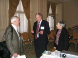 Jim Hughes, Roger Wilson, Judith Robinson