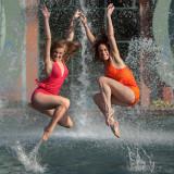 Dancers in Disneyworld