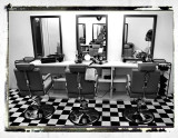 hair saloon without clients