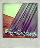 the truth is hidden behind the curtain...