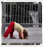 the first attempt to do a handstand... ;)