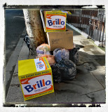 trash art - inspired by Andy Warhol ;)