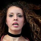 Beautiful (dancing) member of the Associazione Famiglie Italiane e.V., Frankfurt-Höchst