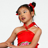 the youngest  of the chinese dance crew...