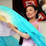 chinese fan dancer
