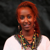 Woman from the ethiopian community Rhine-Main-District e.V.