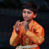 Tamil boy in a traditional dance