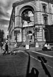 on street