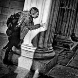 Hide and seek at Brandenburg Gate