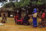 Waiting for the doctor, village in Southern Somalia