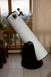 My GSO 305 (12) dobsonian telescope (side view)