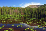 Surprise Lake above Green Mountain Resevoir