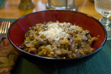 Risotto with Parmesan & Mushrooms