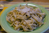 Fettuccine with Butter & Pine Nuts