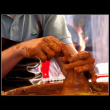... Hands playing ,,,