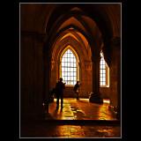 Inside Alcobaça Monastery ... Portugal