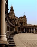 Spain Square in Sevilla - Spain - 1 a