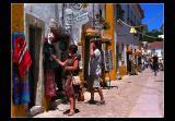 ... Walking in Obidos ...
