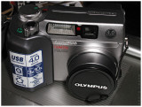 Olympus C4000z with Wide Angle Adapters
