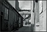 Back Alley in Black and White