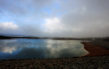 Low cloud over North Dandalup dam