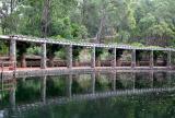 Pergola at Araluen Botanic Park
