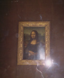The Louvre Mona Lisa, not my illegal flash