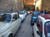 A  'herd' of Fiat 500's for Hernan