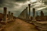 Ancient City Of Perge, Turkey.