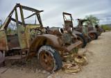Rusting in the desert