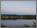 Moonrise over Wisconsin