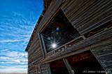 Sunlight Through The Barn