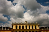 Clouds over Schoenbrunn