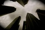 Singapore in monochrome