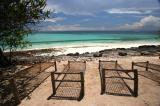 Chumbe Island beach