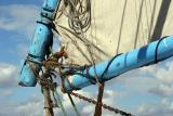 Part of felucca sail